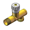 7823 Brass Angle Valve with Filter