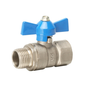1331 Brass Butterfly Ball Valve
